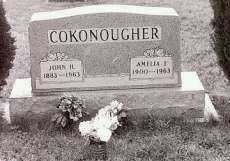 COKONOUGHER, AMELIA - Ross County, Ohio | AMELIA COKONOUGHER - Ohio Gravestone Photos