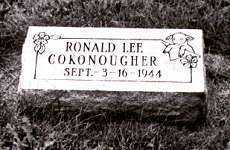 COKONOUGHER, RONALD LEE - Ross County, Ohio | RONALD LEE COKONOUGHER - Ohio Gravestone Photos