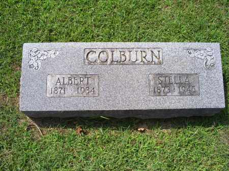 COLBURN, ALBERT - Ross County, Ohio | ALBERT COLBURN - Ohio Gravestone Photos