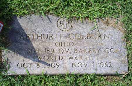 COLBURN, ARTHUR F. - Ross County, Ohio | ARTHUR F. COLBURN - Ohio Gravestone Photos