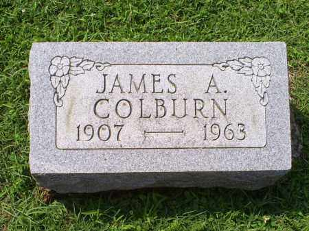 COLBURN, JAMES A. - Ross County, Ohio | JAMES A. COLBURN - Ohio Gravestone Photos