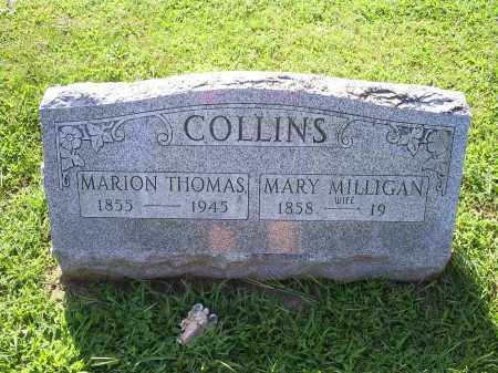 COLLINS, MARION THOMAS - Ross County, Ohio | MARION THOMAS COLLINS - Ohio Gravestone Photos