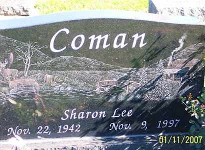 COMAN, SHARON LEE - Ross County, Ohio | SHARON LEE COMAN - Ohio Gravestone Photos