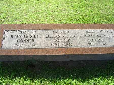 CONNER, BILLY LEGGETT - Ross County, Ohio | BILLY LEGGETT CONNER - Ohio Gravestone Photos