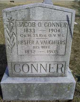 VAUGHTERS CONNER, HESTER A. - Ross County, Ohio | HESTER A. VAUGHTERS CONNER - Ohio Gravestone Photos
