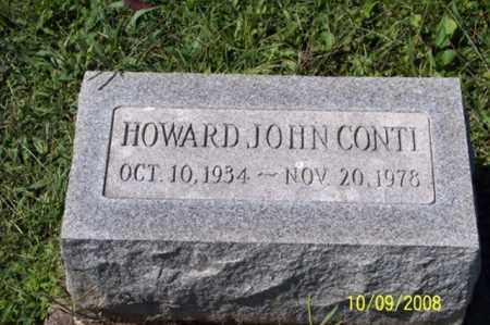 CONTI, HOWARD JOHN - Ross County, Ohio | HOWARD JOHN CONTI - Ohio Gravestone Photos