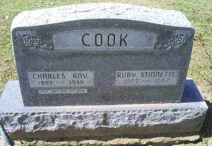 COOK, RUBY - Ross County, Ohio | RUBY COOK - Ohio Gravestone Photos
