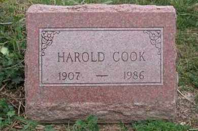 COOK, HAROLD - Ross County, Ohio | HAROLD COOK - Ohio Gravestone Photos