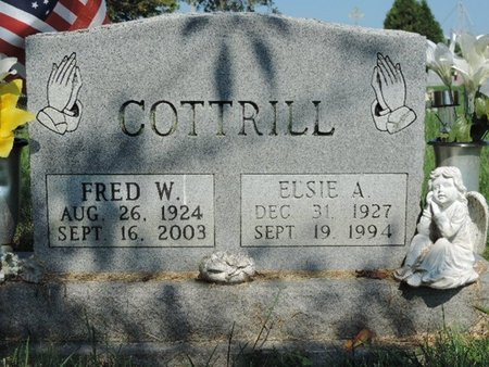 COTTRILL, FRED W. - Ross County, Ohio | FRED W. COTTRILL - Ohio Gravestone Photos