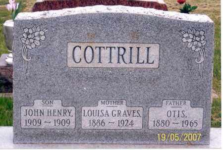 GRAVES COTTRILL, LOUISA - Ross County, Ohio | LOUISA GRAVES COTTRILL - Ohio Gravestone Photos