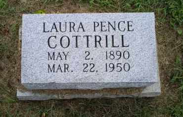PENCE COTTRILL, LAURA - Ross County, Ohio | LAURA PENCE COTTRILL - Ohio Gravestone Photos