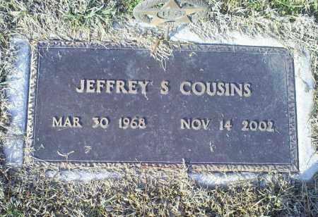 COUSINS, JEFFREY S. - Ross County, Ohio | JEFFREY S. COUSINS - Ohio Gravestone Photos