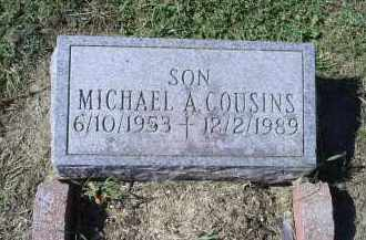 COUSINS, MICHAEL A. - Ross County, Ohio | MICHAEL A. COUSINS - Ohio Gravestone Photos