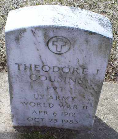 COUSINS, THEODORE J. - Ross County, Ohio | THEODORE J. COUSINS - Ohio Gravestone Photos
