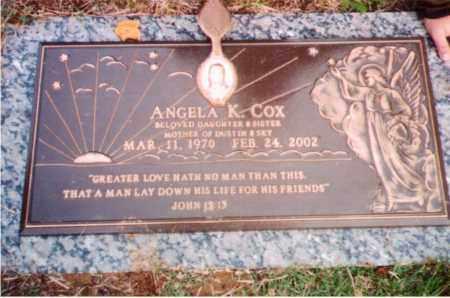 COX, ANGELA K. - Ross County, Ohio | ANGELA K. COX - Ohio Gravestone Photos