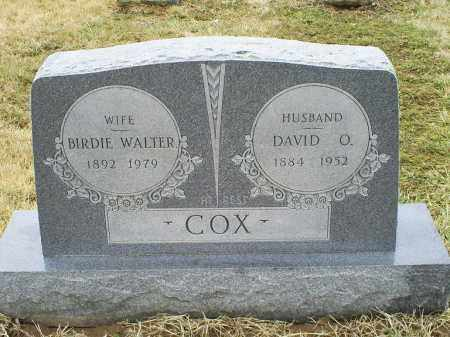 WALTER COX, BIRDIE - Ross County, Ohio | BIRDIE WALTER COX - Ohio Gravestone Photos