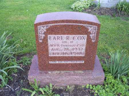 COX, EARL R. - Ross County, Ohio | EARL R. COX - Ohio Gravestone Photos