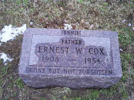 COX, ERNEST WATSON - Ross County, Ohio | ERNEST WATSON COX - Ohio Gravestone Photos