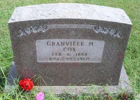 COX, GRANVILLE MITHIAS - Ross County, Ohio | GRANVILLE MITHIAS COX - Ohio Gravestone Photos