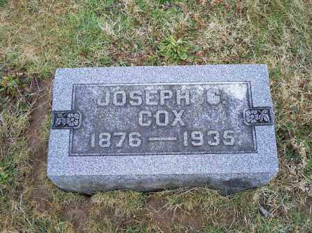 COX, JOSEPH G. - Ross County, Ohio | JOSEPH G. COX - Ohio Gravestone Photos
