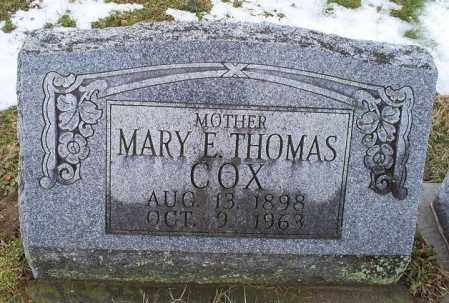 THOMAS COX, MARY E. - Ross County, Ohio | MARY E. THOMAS COX - Ohio Gravestone Photos