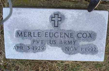 COX, MERLE EUGENE - Ross County, Ohio | MERLE EUGENE COX - Ohio Gravestone Photos
