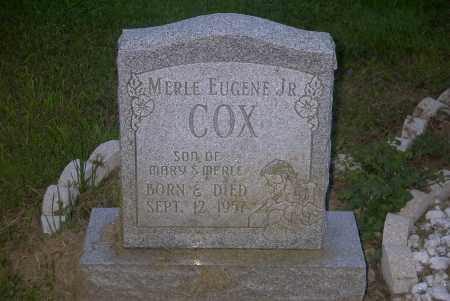 COX, MERLE EUGENE JR. - Ross County, Ohio | MERLE EUGENE JR. COX - Ohio Gravestone Photos