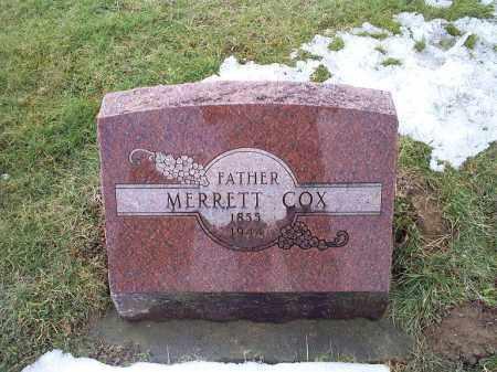COX, MERRETT - Ross County, Ohio | MERRETT COX - Ohio Gravestone Photos