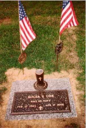 COX, ROGER E. - Ross County, Ohio | ROGER E. COX - Ohio Gravestone Photos