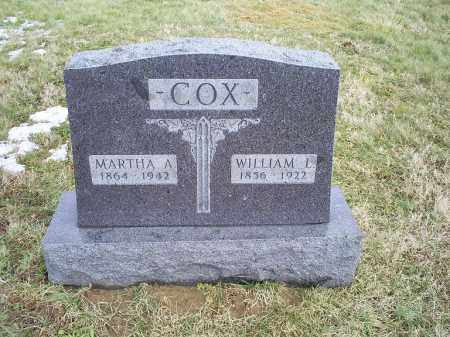 MCDONALD COX, MARTHA A. - Ross County, Ohio | MARTHA A. MCDONALD COX - Ohio Gravestone Photos