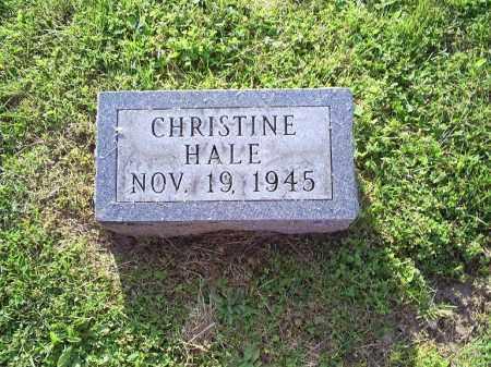 COY, CHRISTINE HALE - Ross County, Ohio | CHRISTINE HALE COY - Ohio Gravestone Photos