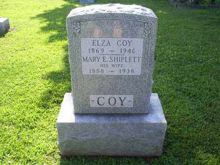 SHIPLETT COY, MARY E. - Ross County, Ohio | MARY E. SHIPLETT COY - Ohio Gravestone Photos