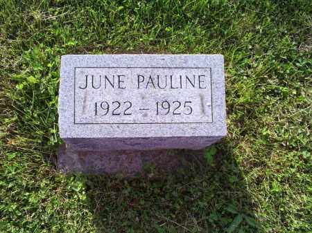 COY, JUNE PAULINE - Ross County, Ohio | JUNE PAULINE COY - Ohio Gravestone Photos