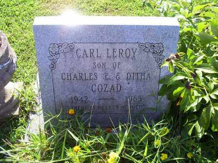 COZAD, CARL LEROY - Ross County, Ohio | CARL LEROY COZAD - Ohio Gravestone Photos