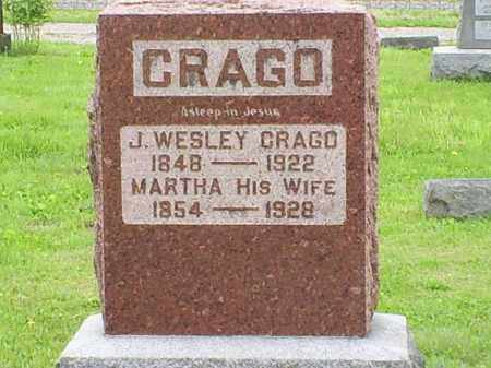 CRAGO, MARTHA - Ross County, Ohio | MARTHA CRAGO - Ohio Gravestone Photos