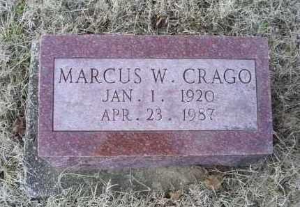 CRAGO, MARCUS W. - Ross County, Ohio | MARCUS W. CRAGO - Ohio Gravestone Photos