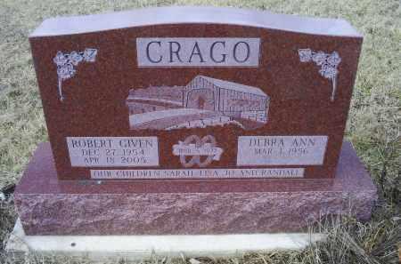 CRAGO, ROBERT GIVEN - Ross County, Ohio | ROBERT GIVEN CRAGO - Ohio Gravestone Photos