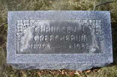 CREACHBAUM, CHAUNCEY L. - Ross County, Ohio | CHAUNCEY L. CREACHBAUM - Ohio Gravestone Photos