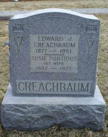 CREACHBAUM, EDWARD J. - Ross County, Ohio | EDWARD J. CREACHBAUM - Ohio Gravestone Photos