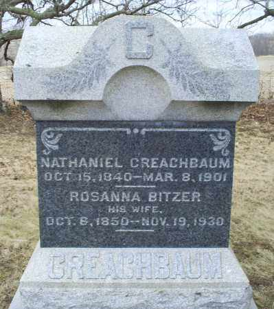 CREACHBAUM, ROSANNA - Ross County, Ohio | ROSANNA CREACHBAUM - Ohio Gravestone Photos