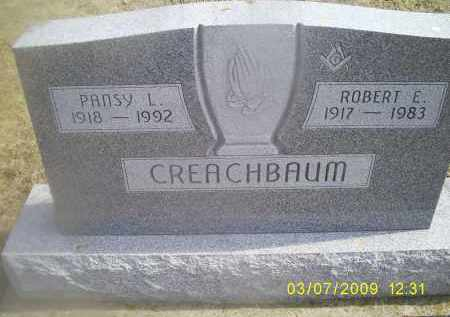 CREACHBAUM, ROBERT E. - Ross County, Ohio | ROBERT E. CREACHBAUM - Ohio Gravestone Photos
