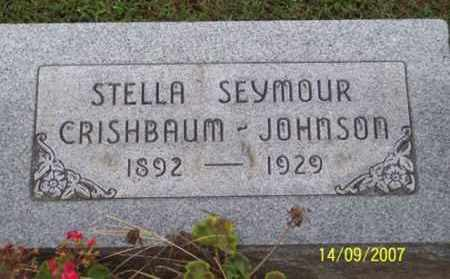 SEYMOUR JOHNSON, STELLA - Ross County, Ohio | STELLA SEYMOUR JOHNSON - Ohio Gravestone Photos