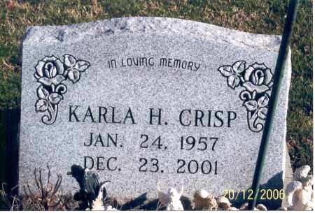 HAMMOND CRISP, KARLA HOPE - Ross County, Ohio | KARLA HOPE HAMMOND CRISP - Ohio Gravestone Photos