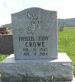 "CROWE, PHYLLIS  ""JUDY"" - Ross County, Ohio 