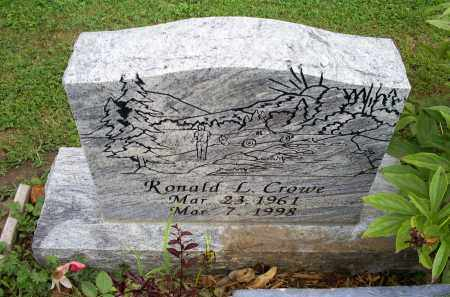 CROWE, RONALD L. - Ross County, Ohio | RONALD L. CROWE - Ohio Gravestone Photos