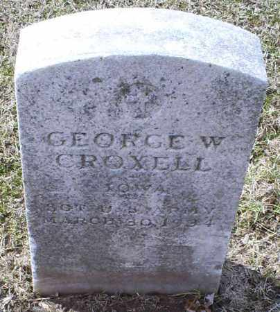 CROXELL, GEORGE W. - Ross County, Ohio | GEORGE W. CROXELL - Ohio Gravestone Photos