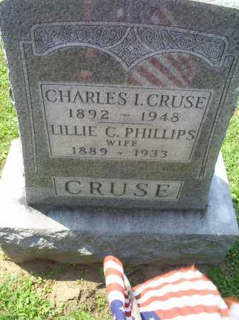 PHILLIPS CRUSE, LILLIE - Ross County, Ohio | LILLIE PHILLIPS CRUSE - Ohio Gravestone Photos