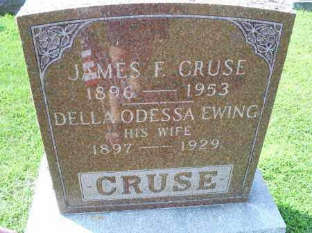 CRUSE, JAMES F. - Ross County, Ohio | JAMES F. CRUSE - Ohio Gravestone Photos