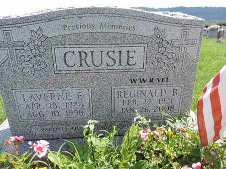 CRUSIE, REGINALD B - Ross County, Ohio | REGINALD B CRUSIE - Ohio Gravestone Photos