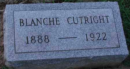 CUTRIGHT, BLANCHE - Ross County, Ohio | BLANCHE CUTRIGHT - Ohio Gravestone Photos
